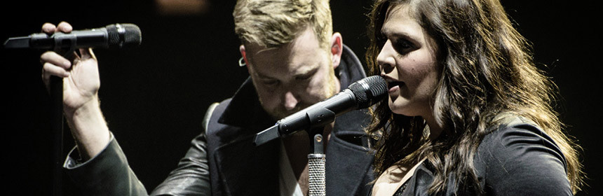 Lady Antebellum performing at Peoria Civic Center