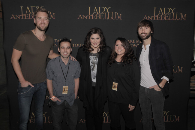 Meeting Lady Antebellum